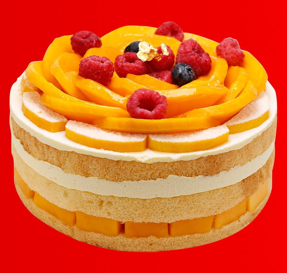 花开富贵 · 裸蛋糕