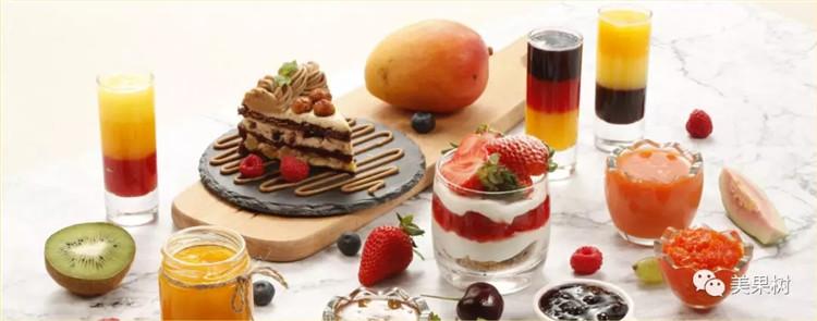 美果树酱心裸蛋糕